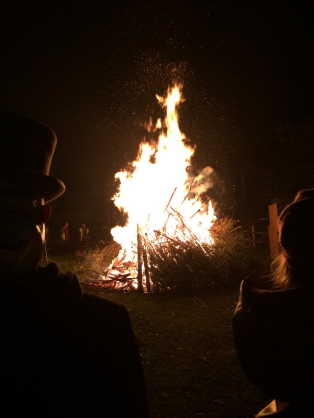 November 5th bonfire
